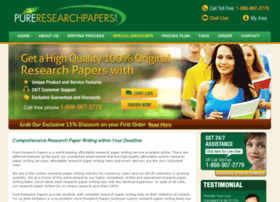 pureresearchpapers.com