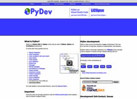 pydev.org
