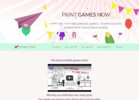 python-printable-games.com
