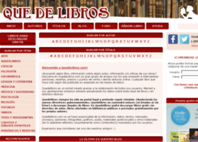 quedelibros.com
