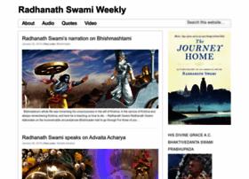 radhanathswamiweekly.com