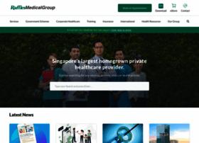 rafflesmedicalgroup.com
