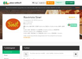 ravintolasinet.pizza-online.fi