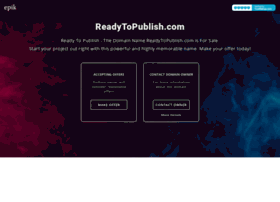 readytopublish.com