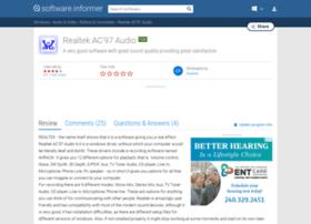 realtek-ac-97-audio.software.informer.com