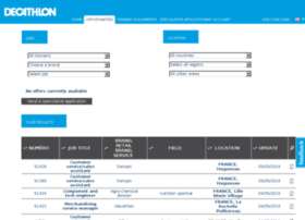 recruitment.decathlon.com