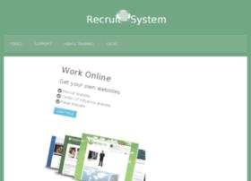 recruitsystem.com