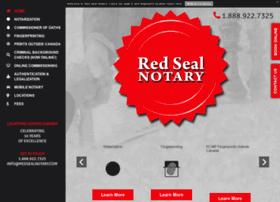 redsealnotary.com