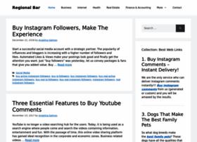 regionalbar.com