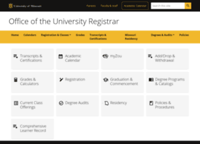 registrar.missouri.edu