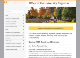 registrar.tennessee.edu