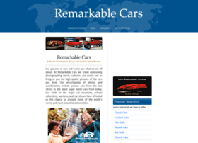 remarkablecars.com