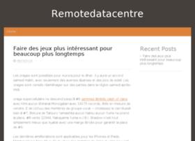 remotedatacentre.com