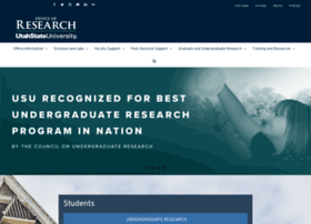 research.usu.edu