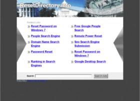 resetdirectory.info
