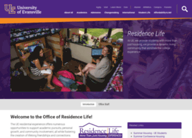residencelife.evansville.edu