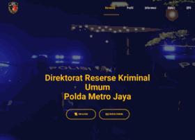 Reskrimum.metro.polri.go.id