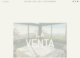 restaurantelaventa.com