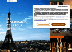 restaurants-toureiffel.com