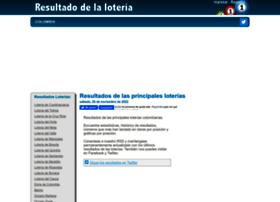 Resultadodelaloteria.com