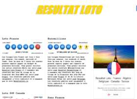 resultatsduloto.com