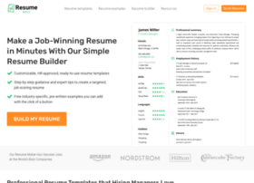 resumebuildersoftware.com
