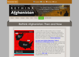 Rethinkafghanistan.com