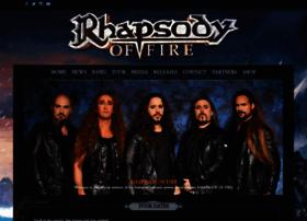 rhapsodyoffire.com