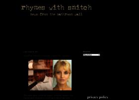 Rhymeswithsnitch.com
