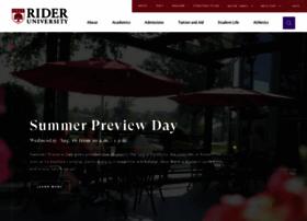 Rider.edu