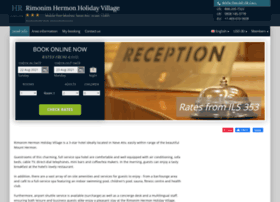 rimonim-hermon-holiday.h-rez.com