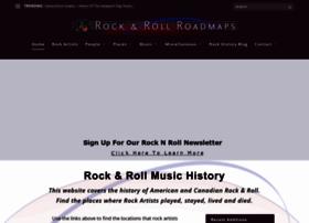 rockandrollroadmap.com
