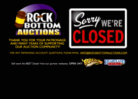 Rockbottomauctions.com