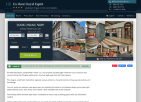 royal-esprit-prague.hotel-rez.com