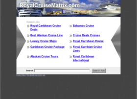 royalcruisematrix.com