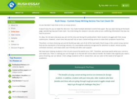 rushessay.com