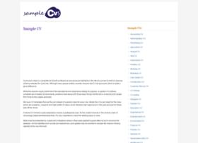 samplecvs.org