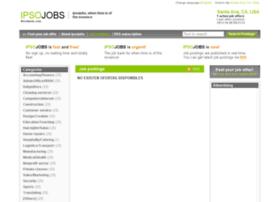 santaana.ipsojobs.com