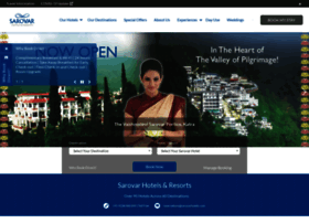 Sarovarhotels.com