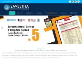 saveetha.org