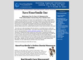 saveyoursmile.com