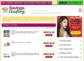 savingsandcoupons.com