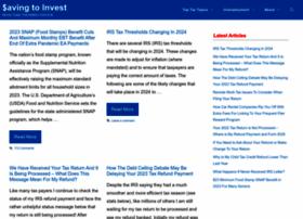 savingtoinvest.com