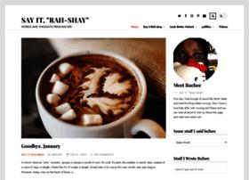 sayitrahshay.com