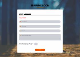 sbairlines.com