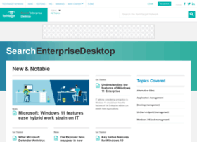 searchenterprisedesktop.techtarget.com