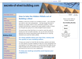 secrets-of-shed-building.com