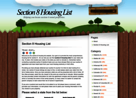Section8housinglist.info