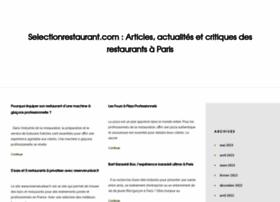 selectionrestaurant.com