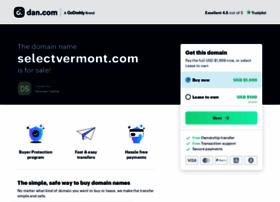 selectvermont.com